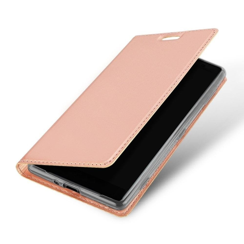 Dux Ducis skin leather case HUAWEI HONOR 8X light pink