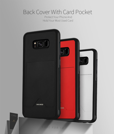 DUX DUCIS POCARD CASE SAMSUNG GALAXY G955 S8+ PLUS red