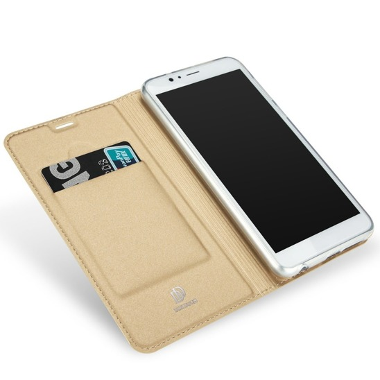 DUX DUCIS SKIN LEATHER CASE HUAWEI HONOR 9 GOLD