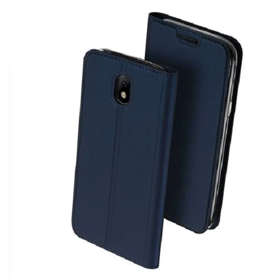 DUX DUCIS SKIN LEATHER CASE HUAWEI P8 LITE 2017 DARK BLUE