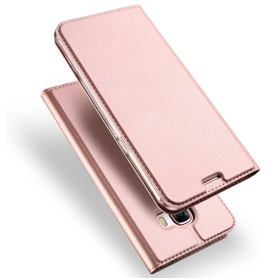 DUX DUCIS SKIN LEATHER HUAWEI P10 LITE LIGHT PINK