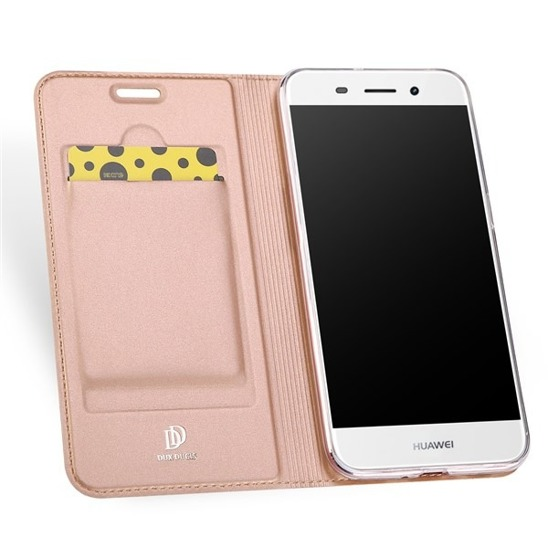 DUX DUCIS SKIN LEATHER HUAWEI Y3 2017 LIGHT PINK