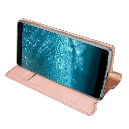 DUX DUCIS SKIN LEATHER IPHONE X LIGHT PINK