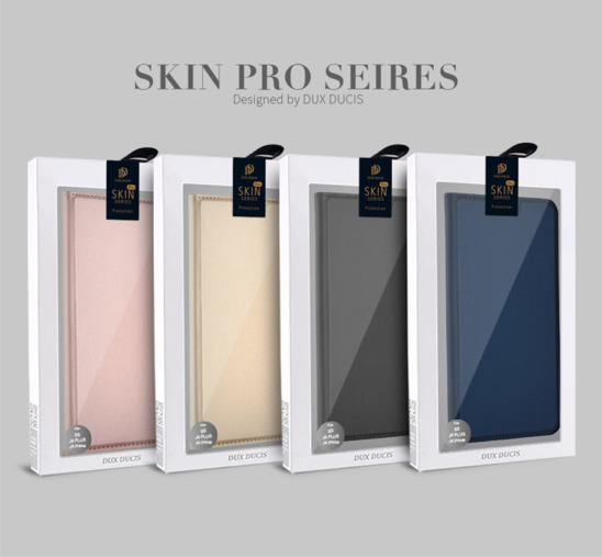 DUX DUCIS SKIN LEATHER SAMSUNG A8+ 2018 LIGHT PINK