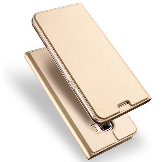 DUX DUCIS SKIN LEATHER SAMSUNG G955 S8+ GOLD