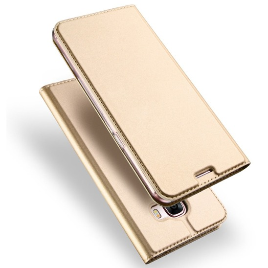 DUX DUCIS SKIN LEATHER SAMSUNG NOTE 8 GOLD