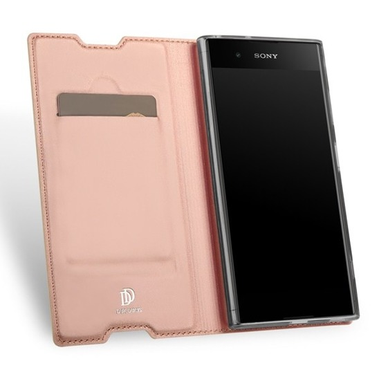 DUX DUCIS SKIN LEATHER SONY L1 LIGHT PINK