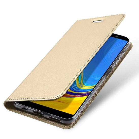 Dux Ducis Case Skin Leather SAMSUNG J6+ J6 PLUS gold