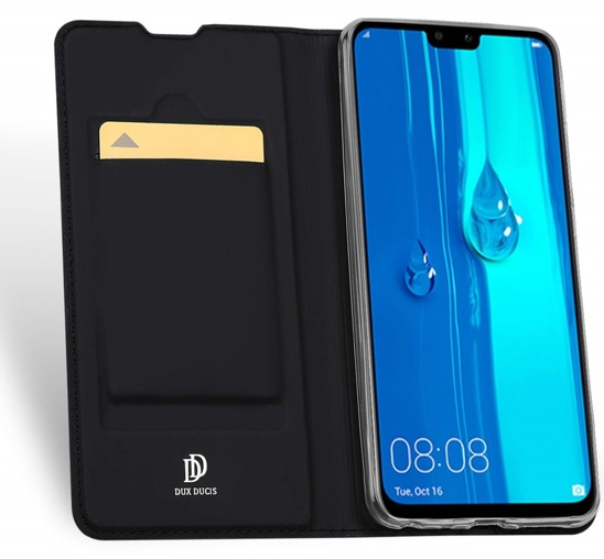 Dux Ducis Skin Leather Case HUAWEI P SMART 2019 black
