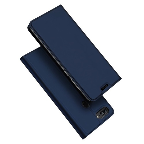 Dux Ducis skin leather case HUAWEI HONOR 10 LITE navy blue