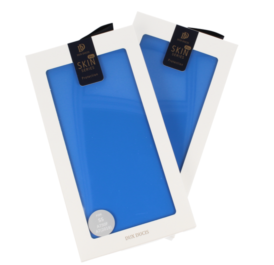 Dux Ducis skin leather case SAMSUNG GALAXY S10e blue