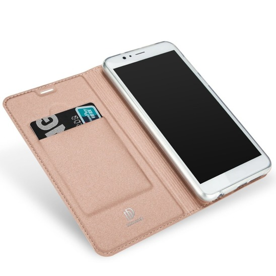 Dux ducis skin leather Huawei Honor 7x light pink