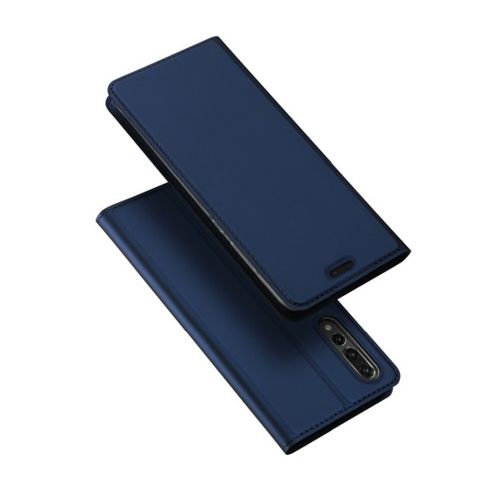 Dux ducis skin leather Huawei P20 Pro dark blue
