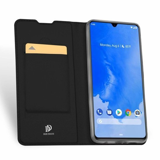 HUAWEI Y5P / HONOR 9S case with a Dux Ducis leather skin leather flip black