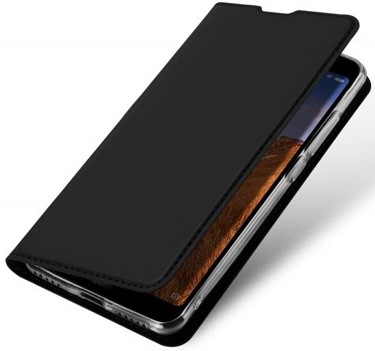 SAMSUNG GALAXY A21S case with a Dux Ducis leather Skin Leather flip black