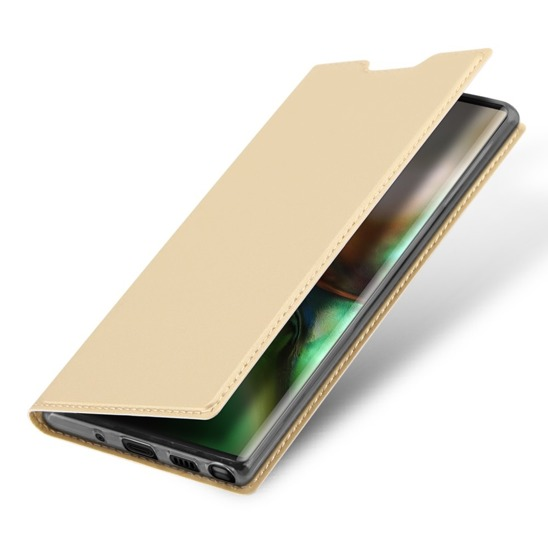 SAMSUNG GALAXY NOTE 10 gold Dux Ducis Skin Leather case