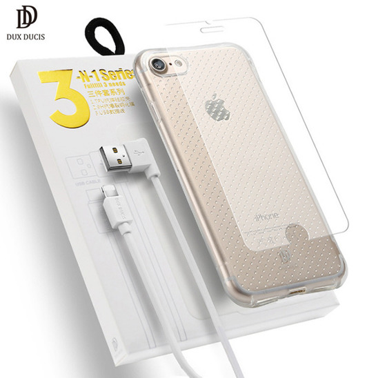 Dux ducis 3in1 XIAOMI REDMI 4X case+usb+glass